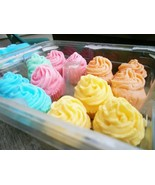 bulk cupcake soaps, bath and body, cupcake soap... - $62.50