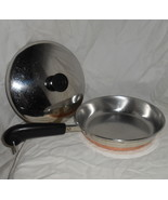 1982 REVERE WARE Copper Clad Stainless Steel 8
