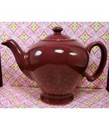 McCormick Tea Baltimore MD Hall Burgundy / Maro... - $18.13