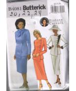 Butterick 4081 Misses & Petite Jacket Skirt Dia... - $6.00
