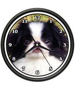 JAPANESE CHIN Wall Clock dog doggie pet breed gift - $19.78