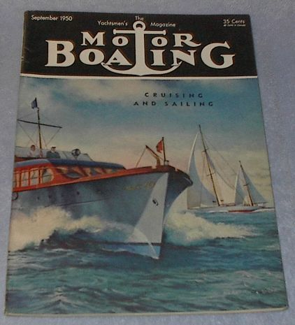 Yachtsmen Magazine Motor Boating September 1950