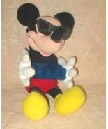 Disney Plush Blues Singing Mickey Mouse W Harmo... - $30.00