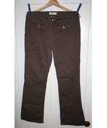 L.E.I. Juniors Wide Leg Brown Corduroy Jeans  S... - $4.99