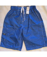 Boys The Childrens Place Swim Suit Royal Blue S... - $11.00
