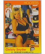 Christy Snyder 1994 Hooters Card #8 - $1.00