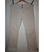 Personal Identity Juniors Wide Leg Beige Jeans ... - $5.99