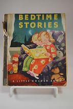 Vintage Little Golden Book Bedtime Stories 1945... - $24.30
