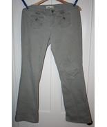 L.E.I. Juniors Green Corduroy Wide Leg Jeans  S... - $4.99