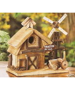 Put Your Own Barnyard Wood Birdhouse In Your Tree - $21.75