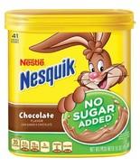 Nesquik Chocolate Milk Powder Nesquick No Sugar... - $14.80