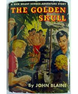 Rick Brant The Golden Skull John Blaine hcdj Sc... - $15.00
