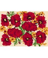 Latch Hook Pattern Chart: READICUT #106 Poppies... - $6.95