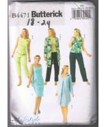 Butterick 4471 Women's/Petite Jacket Top Dress ... - $5.00