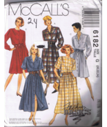 McCall's 6182 Misses Dress in Two Lengths - Fas... - $5.00