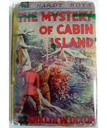 Hardy Boys Mystery of Cabin Island 1942A-20 1st... - $27.00
