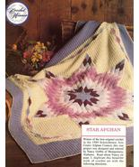 Prize Winning Star Quilt Afghan Crochet Pattern... - £10.68 GBP
