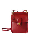 Authentic Coach Murphy Red Leather Crossbody S... - $100.00