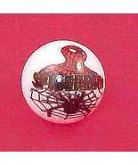 New Spiderman Spider Man Web Glass Marble Super... - $8.00