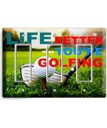 LIFE is BETTER GOLFING GOLF TRIPLE GFCI LIGHT S... - $17.99