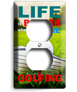LIFE is BETTER GOLFING GOLF COURSE DUPLEX OUTLE... - $10.99