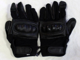 Airsoft Tactical Hard Knuckle Gloves Leather AB... - $17.50