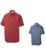 Mens Shirt Short Sleeve Columbia Bonehead - $28.00