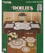 Doilies in All Shapes and Sizes Patterns Lace T... - $6.99