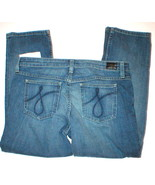 NWT Womens $168 Juicy Couture Crop Jeans 29 32 ... - $109.99