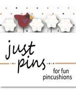 Snowbird Just Pins JP123 set 5 for pincushions ... - $13.95
