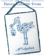 French Country Stork cross stitch chart JBW Des... - $7.20