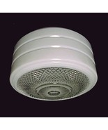 Art Deco 8 in Utility Ceiling Light Shade Clear... - $12.95