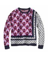 NWOT J.Crew J Crew Mixed Pattern Sweater XXS  - $75.00