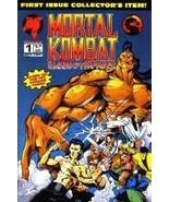 Mortal Kombat: Blood & Thunder #1 Alternate Cov... - $21.74