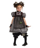 Adorable Fashionista Gothic Rag Doll Girl Costu... - $32.75