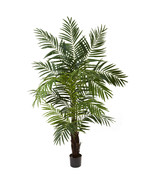 6' Areca Palm Green Silk Tree, Nearly Natural 5408 - $119.89