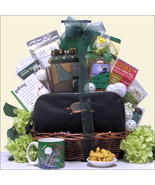 Hole In One: Golf Green White Gift Basket, Grea... - $141.56