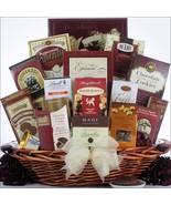 Chocolate Madness: Chocolate Burgundy Gift Bask... - $109.88