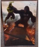 King Kong vs The Incredible Hulk Glossy Print 1... - $24.99