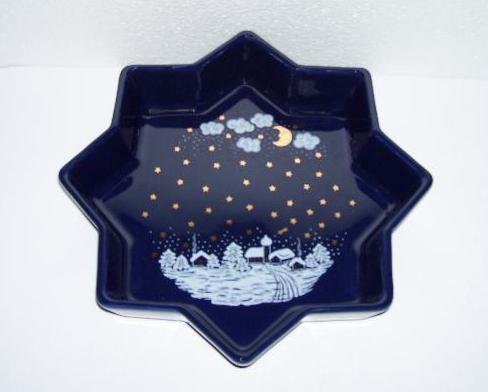 Waechtersbach Winter Dreams Star Shaped Dish Bowl