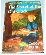 Nancy Drew #1 Secret of the Old Clock Rev Text DJ - $7.99
