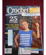 Crochet World 25 Pattern Magazine Back Issue Au... - $0.00