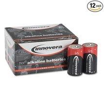 Innovera Alkaline Batteries, C, 12 Batteries/Pack - $16.56