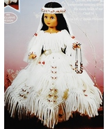 Fibre Craft Indian Princess IV Doll with Croche... - $34.63