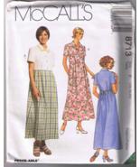 McCalls 8713 Misses Dress - Sizes 16, 18, 20 - ... - $5.00
