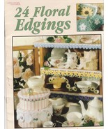 24 Floral Edgings Designs by Terry Kimbrough Fl... - $6.99