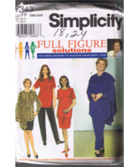 Simplicity 7343 - Women's Tunic, Skirt, Pants, ... - $5.00