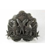 Silvertone American Eagles Belt Buckle By ED HA... - $41.82