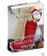 100 HOMEMADE CHRISTMAS Special Recipes eBook - $1.49