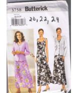 Butterick 3758 - Misses / Misses Petite Jacket ... - $5.00